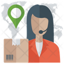 Shipping Location Services Icon