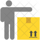 Shipping Man Icon