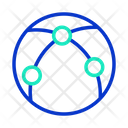 Shipping Network Icon