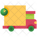 Shipping On Transit Delivery Icon