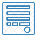 Shipping Report Store Shop Icon