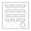 Shipping Report Icon