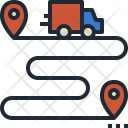 Shipping Route Icon