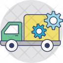 Shipping Services Truck Icon