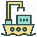 Ship Delivery Shipping Icon