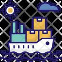 Shipping Ship Cargo Ship Cargo Icon