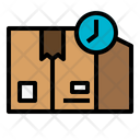 Waiting Package Delivery Icon
