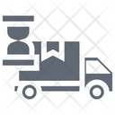 Shipping Time Delivery Time Clock Icon