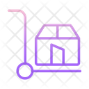 Shipping Trolley Icon