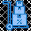Shipping Trolley Icon