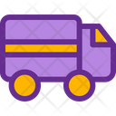 Shipping Car Delivery Icon
