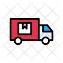 Delivery Parcel Truck Icon