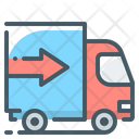Truck Logistics Transport Icon