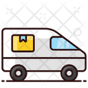 Shipping Truck Delivery Van Cargo Icon
