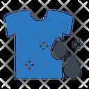 Shirt Cloth Washing Icon