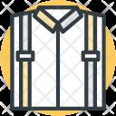 Shirt Dress Folded Icon