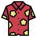 Hawaiian Shirt Clothing Icon