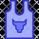 Shirt Cloth Fitness Icon