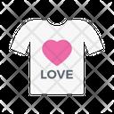 Love Shirt Cloth Icon