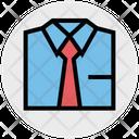 Shirt Business Plain Tie Icon