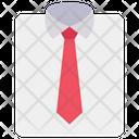 Shirt Tie Dress Icon