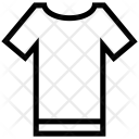 Shirt Tee Round Icon
