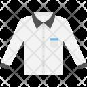 White Shirt Formal Icon
