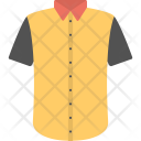 Yellow Shirt Casual Icon