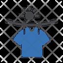 Shirt Dry Hanging Icon