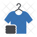 Hanger Shirt Washing Icon