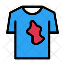 Shirt Stain Cloth Icon