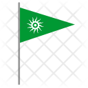 Shiva Flag Pointer Icon