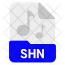 Shn File Format Icon