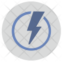 Shock Electric Energy Icon