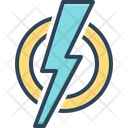 Shock Dangerous Storm Icon