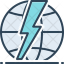 Shock Dangerous Environment Icon