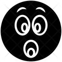 Shock Surprise Emoji Icon