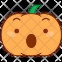 Shock Astonish Pumpkin Icon