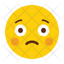 Sad Emotion Emoji Icon