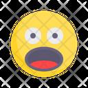 Shock Amazement Surprised Icon