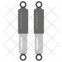 Shock Absorber Spring Car Accessory Icon