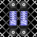 Car Springs Shock Absorber Coil Springs Icon