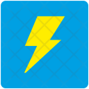 Shock Electric Charge Icon