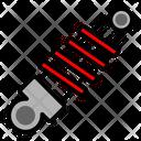 Shockbreaker Service Automobile Icon