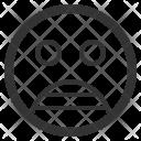 Shocked Emoticons Emoji Icon