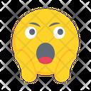 Emoji Emoticon Shocked Icon