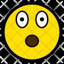 Shocked Impressed Face Icon