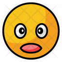 Shocked Surprise Face Icon
