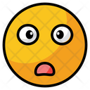 Shocked Surprised Face Icon