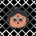 Shocked Aunt Icon
